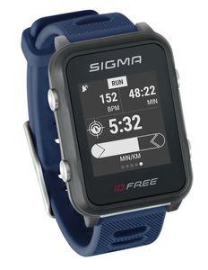 Sigma Sport Sportuhr Id.free Blue
