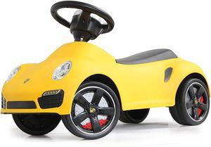 Porsche 911 Turbo S Gelb Rutschauto Rutscher Kinderfahrzeug original lizenziert Auto Kinder COIL