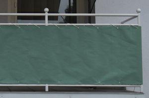 Angerer Balkonbespannung Style 90 cm grün, Länge: 8 Meter