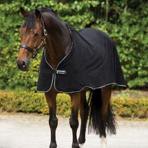 Horseware Fleece Liner  - Black & White, Größe:155
