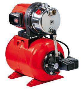 Einhell Hauswasserwerk GC-WW 1046 N, Leistung 1050 Watt, Fördermenge 4600 l/h, Saughöhe max. 8 m, Behältervolumen 20 l, 4173480