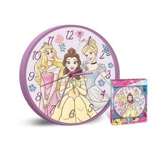 Disney wanduhr Princess junior 25 cm rosa