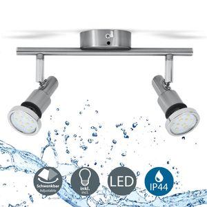 LED Deckenleuchte Bad-Deckenlampe Badezimmerleuchte Deckenstrahler inkl. 5W Leuchtmittel 400 Lumen IP44 B.K.Licht