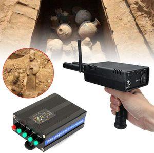 Metalldetektor 3D Metallsuchgerät Suchgerät Gold Metal Detector 1000M Netzteil Golddetektor Finder Kit Handheld Scanner Antenne