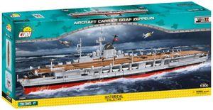 COBI 4826 HC WWII Graf Zeppelin Flugzeugträger 3130 Teile Bausatz