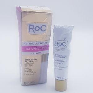 ROC Faltenglättende Augencreme mindert Schwellungen Augenringe 15 ml