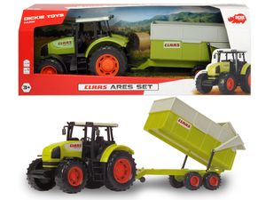 Dickie Toys - Spielfahrzeuge, CLAAS Ares Set; 203739000