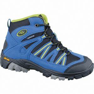 Brütting Ohio High Jungen Nylon Comfortex Trekking Boots blau, Vibram-Laufsohle, 4437114/35
