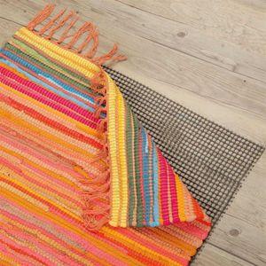 Pro Home Teppich - Gleitschutz Antirutsch Haftgitter Dunkelgrau, Auswahl:  80 x 150 cm