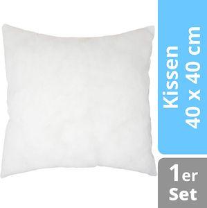 Home Edition Füllkissen 40 x 40 cm   Füllmaterial Kissen Inlett   Polyester Mikrofaser