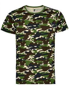Herren Marlo T-Shirt, Single Jersey - Farbe: Camouflage Forest 232 - Größe: XL