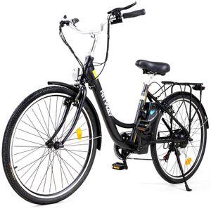 HITWAY E-Bike Herren 26 Zoll Fahrrad 250w Hochleistungsmotor Mit Einer HöChstgeschwindigkeit Von 25 Km/H   Multifunktions-Lcd-Bildschirm E-Bikes Sind Sowohl FüR MäNner Als Auch FüR Frauen Geeignet