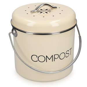 Komposteimer 3l inkl. Aktivkohlefilter