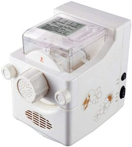 Vollautomat Nudelmaschine Elektrisch Nudel 160W Pastamaschine Nudelautomat Pastaautomat mit 9 Schimmel Pasta Spaghetti, Fettuccine, Penne, Knödel Wrapper