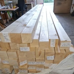 KVH NSI Kantholz Konstruktionsholz Balken Carport Bauholz 10x10x400 cm 2-er Pack