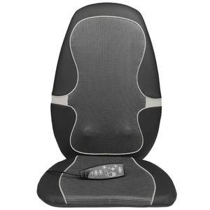 Mllaid Medisana Shiatsu Massage-Sitzauflage MC 815 Schwarz und Grau 88916
