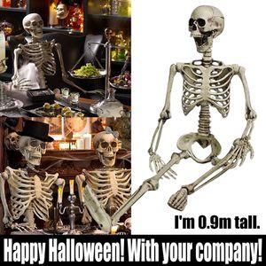 Gemeinsame menschliche Skelettdekoration Halloween Party Prop Dekoration