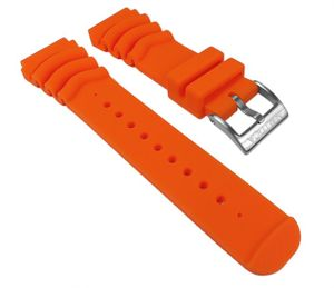 Nautica Ersatzband Uhrenarmband PolyurethanBand Orange 22mm N18633G für NMX 650 / 50 mm