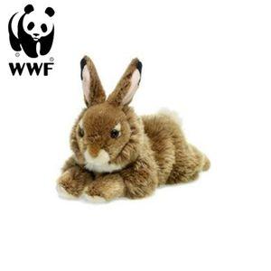 Plüschtier Hase (19cm, liegend) lebensecht Kuscheltier Stofftier Rabbit