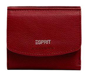 ESPRIT Foc Classic Small City Wallet Garnet Red