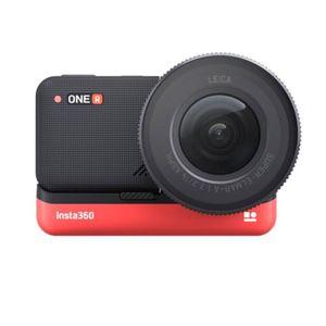 Insta360 One R 1Inch Edition Action Kamera Camcorder Wasserdicht 5,3K Sport, Farbe:Rot/Schwarz