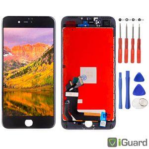 LCD Display für iPhone 8+ PLUS 5,5 SCHWARZ (Spacegrau) 3D TOUCH Glas Retina