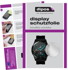 2x Huawei Watch GT 2 (42mm) Schutzfolie klar Displayschutzfolie Folie Display