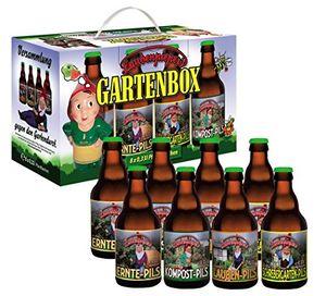 Bierundmehr Garten Bier Box im 8er Geschenkkarton (8 x 0.33 l) (4,54 EUR / l)