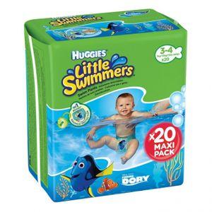 40 Huggies Little Swimmers 7 bis 15 Kg Schwimmwindeln Größe 3-4