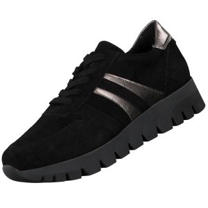 TAMARIS Damen Plateau Sneaker Schwarz, Schuhgröße:EUR 40