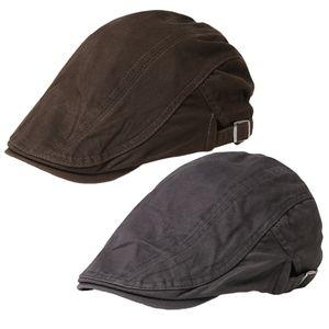 2 Stück Flatcap Gatsby Schiebermütze Schirmmütze