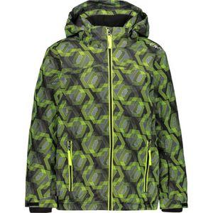 Campagnolo Boy Jacket Snaps Hood - nero-yellow fluo, Größe:116