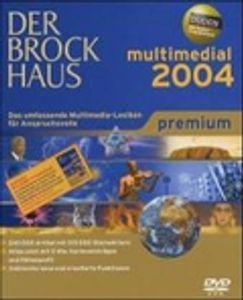 Brockhaus multimedial 2004 premium  1 DVD-ROM für Windows  mi Duden-Eingabecheck