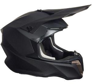 Crosshelm 806 Motocross Downhill Integralhelm Helm Motorradhelm  matt schwarz S