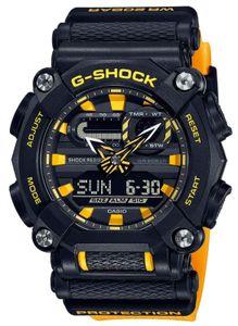 Casio G-Shock Armbanduhr GA-900A-1A9ER orange schwarz