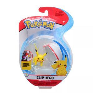 Spielfigur mit Pokeball zur Auswahl | Pokemon | Clip N Go | Action-Figuren, Spielfigur:Pikachu