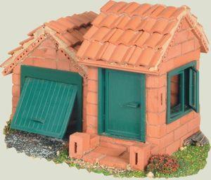Teifoc Haus Dachpfanne (2 Pläne)