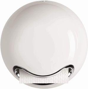 """WC Rollenhalter""""Bowl"""" zum kleben oder bohren Weiß"""