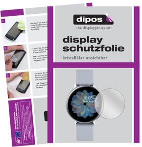 2x Samsung Galaxy Watch Active 2 44mm Schutzfolie klar Displayschutzfolie Folie