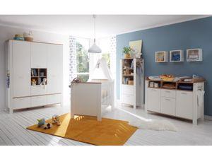 Babyzimmer 8 Adele in Weiß- Asteiche