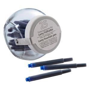 Tintenpatrone für Lamy Füller blau 25ST