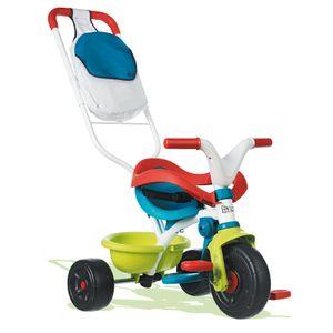 Smoby Be move confort Pop, Metall, Mehrfarben, Rücktrittbremse, Roller, Hinten, 3 Rad/Räder