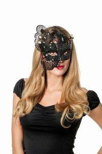 Gothic Halloween Maske Metall Größe: ohne Attribut
