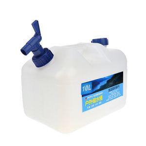 10L Wasserträger Camping Wasserkanister Wasserbehälter mit Hahn Wassertank Wassereimer