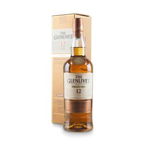 THE GLENLIVET The Glenlivet, Single Speyside Malt, 12 Jahre, Schottland 0,7 l