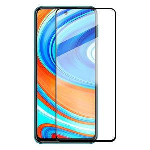 Für Xiaomi Redmi Note 9S / 9 Pro 2x 3D Premium 0,3 mm H9 Hart Glas Schwarz Folie Schutz Hülle Neu