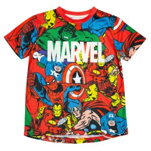 Avengers - T-Shirt für Jungen PG946 (122) (Bunt)