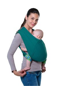 Amazonas Babytragetuch CarryBaby petrol 70 x 36 cm; türkis, AZ-5039002