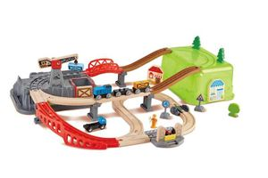 Hape Eisenbahn-Baukasten-Set 50 Teile