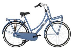Popal Transportfahrräder Damen Daily Dutch Basic+ 28 Zoll 50 cm Damen 3G Rücktrittbremse Mattschwarz